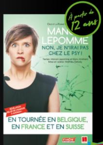 [Spectacle] Manon Lepomme @ Espace Culturel Victor Hugo | Puget-sur-Argens | Provence-Alpes-Côte d'Azur | France